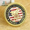 2017 Die Casting Gold Customize Enamel Military Coin in Metal Crafts