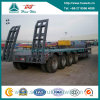 Sinotruk Huawin 4 Axle Low Flatbed Semi Trailer