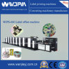 Wjps350 Multi Function High Speed 4-8colors Offset Label Printing Machine