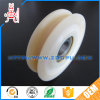 CNC Machining Nylon Plastic Pulley Sheave / Roller Wheel
