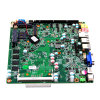 J1800 Mini Itx Mainboard, Mini PC Serial Ports Motherboard with Onboard 24bit Lvds, DC 6V-36V Board for Thin Client, Car PC