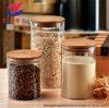 Wholesale Hot Sell 100ml-1000ml High Borosilicate Glass Jar with Wood Lid