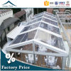 Movable Commercial Logistics Clear Ceremony Tent with Wooden Flooring