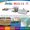 Jwell-PVC Plastic Leather Double Layers and Three Layers Recycling Agricultural Extrusion Making Machine for Exhibition Hall and Office with Factory Price