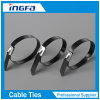 Thicker Epoxy Coated Stainless Steel Cable Ties Manufacturer