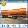 3 Axles Customized Tank Truck Trailer 45000L Fuel Tanker Semi Trailer