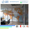 Clear Art Laminated Glass Partition
