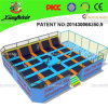 Factory Price Small Basketball Trampoline Fitness Equipment