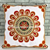 45X45cm Embroidery  Embroidery Cotton Cushion Cover (QCK-1502)