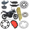 Aftermarket Versys 650 Motorcycle Parts for Kawasaki Kle 650 Versys