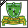 School Woven Patch for Garment Accessory (BYH-10318)