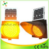300mm Solar Amber Yellow Flashing Light