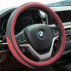 PU 38cm Car-Styling Sport Auto Steering Wheel Covers Anti-Slip