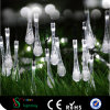 LED Christmas Light Bar with Water Drop Shape for Tree Decoration