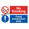 Printed PP Warning Sign Board with Adherent Sponge