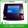 12V 40ah LiFePO4 Battery Used for LED Lighting