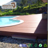 High Impact Resistant Wood Plastic Composite Deck, Hollow Plastic Outdoor Flooring