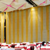 Hotel Banquet Movable Partition Wall Sliding Door for Auditorium Interior Wooden Design