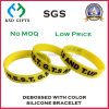 Custom Event Design Colorful Silicone Bracelet for Promotion