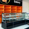 Marble Sliding Glass Door Cake Display Chiller for Bakery Shop