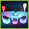 LED Modern Couch Glowing Corner Sofa Illuminated Bat Set
