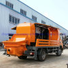 New Practical Type Truck Mounted Concrete Pump for Rural Construction Site