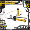 Enerpac Products with Single-Acting Hydraulic Cylinder Pump Sets