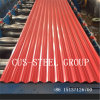 Zambia Prime Red Colour Corrugated Steel Roofing/Color Coated Roof Sheet
