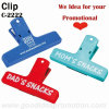 Promotional Gift Snacks Clip with Logo Printing
