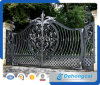 Ornamental Driveway Economical Residential Wrought Iron Gate