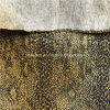 Polyester Crumple Bonding Suede Fabric for Cushion Sofa
