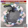 LED Light up Crown Flower Head Hair Band Garland Wedding Party Decoration (P2037)