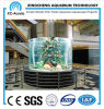 Customized Transparent Acrylic Cylinder Aquarium Price
