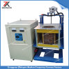 Medium Frequency 50kw Induction Melting Furnace for 50kgs Silver Smelting