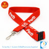 China Custom 3D Screen Printed Lanyard with Safety Lock