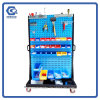 Trade Show Metal Pegboard Hang Hardware Tool Display Stand Rack
