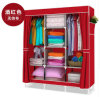 Non-Woven DIY Wardrobe Closet Large and Medium-Sized Cabinets Simple Folding Reinforcement Receive Stowed Clothes (FW-23A)