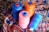 Colorful Polyester Spun Sewing Thread