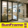High-End Aluminium Bi-Folding Door System