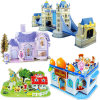 High Quality Wholesale Children DIY 3D Puzzle Game