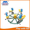 Safe Durable Cheap Outdoor Green Plastic Seesaw