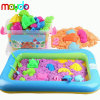 Hot Sale Magic Modelling Play Sand Box Set Toy with Models