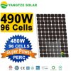 The Chinese Biggest Cheap 490W Black Silicon Solar Panel