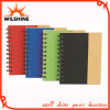 Hardcover Spiral Notebook with Paper Pen for Promotion (SNB137)