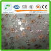 Decorative Acid Etched Art Glass with Ce, ISO