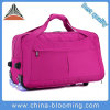 Waterproof Weekend Rolling Trolley Luggage Travel Duffle Suitcase Bag