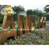 Outdoor Advertising Stainless Steel Letter Sign 3D Letter