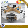 Modular Design Chipboard Well Accepted Office Workstation (HX-8NR0069)
