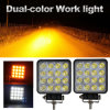 Factory IP68 High Low Beam 4.3inch LED Headlight 48W 4D 24V Offroad LED Work Drving Light for Truck