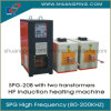 Two Transformer Two Coil High Frequency Induction Heating Machine 20kw 200kHz